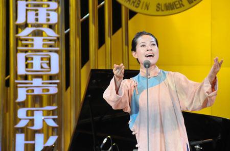 获奖名单,总政歌舞团的王庆爽和中国东方歌舞团的谢一梅获得文华声