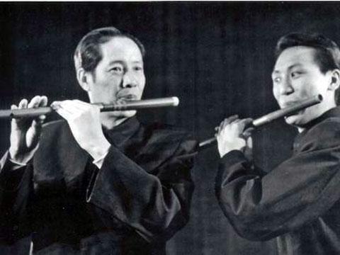 用笛子吹茉莉花的歌谱
