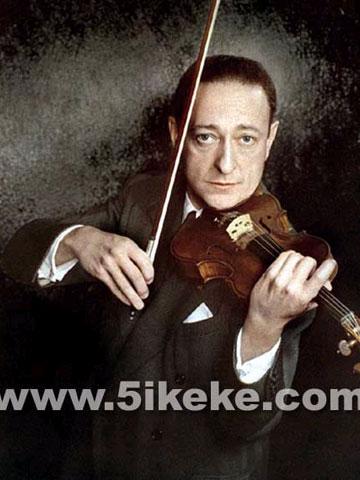 小提琴家亚沙海菲兹