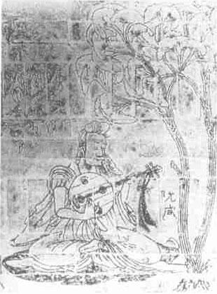 琵琶琴怎么画-丝绸之路上的琵琶乐器史 四