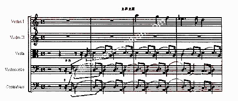 卡农交响乐乐谱