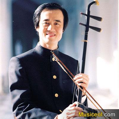 朱昌耀,著名二胡演奏家.