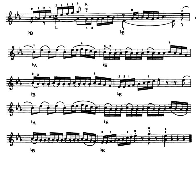电子琴曲谱 那不勒斯舞曲