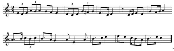 虫儿飞钢琴曲谱视唱