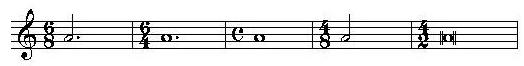 二拍子三拍子四拍子的强弱规律_乐理知识:复拍子的音值组合规律_教学空间_中音在线