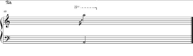 > 名家曲谱:石进 >>夜的钢琴曲四