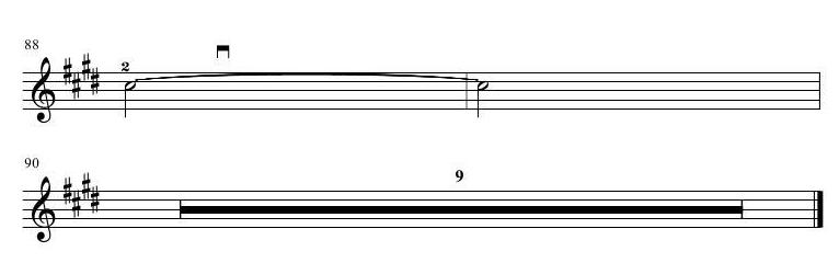 67小提琴曲谱:《是夜》_乐谱推荐_中音在线