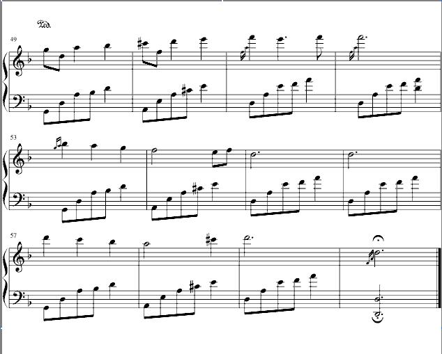 名家曲谱 石进 夜的钢琴曲二