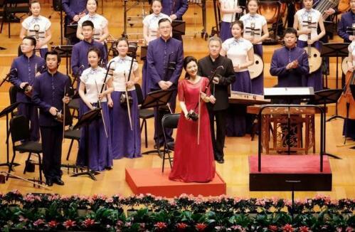 高德平台注册地址于红梅与民族室内乐音乐会在国家大剧院举办