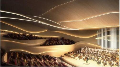 """高德平台注册地址""""水晶宫""""上海长滩音乐厅将成北部滨江新地标"""