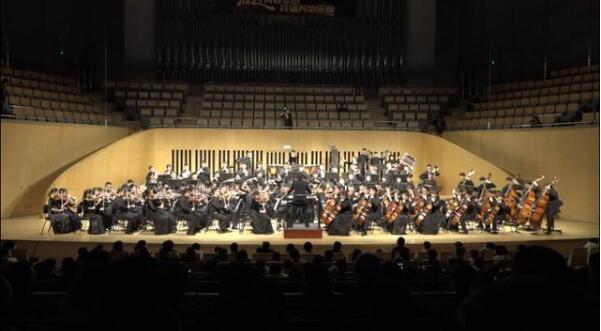 高德平台注册地址山东省青少年爱乐交响乐团建团十周年音乐会成功举行