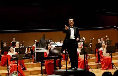 高德平台注册地址江苏女子民族乐团登台上海献演新年音乐会