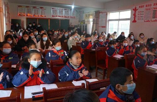 高德平台注册地址安徽阜南口琴教学送教观摩活动开始