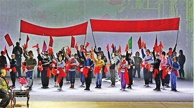 高德平台注册地址天津评剧院9小时舞台合成直播《革命家庭》获网友好评