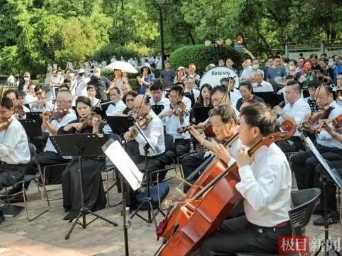 高德平台注册地址低碳森林音乐会开启2021武汉公园文化季系列活动