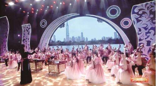 """高德平台注册地址南京小学生民族乐团奏响""""云上""""新春音乐会"""